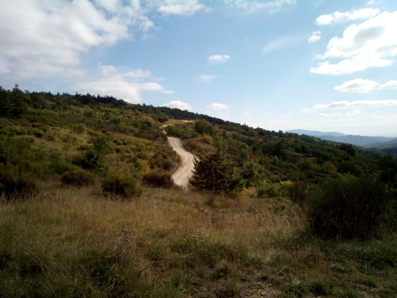 Strada bianca di Poti - da San Polo