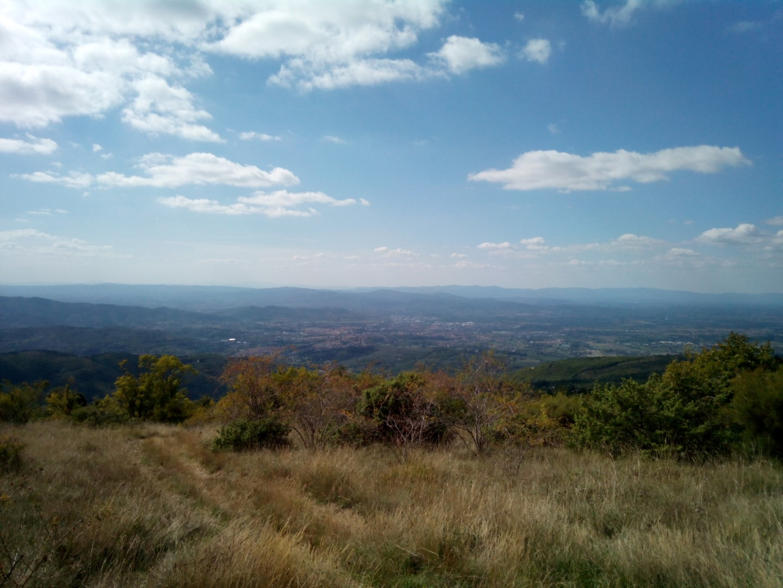 Panorama di Arezzo da Poti