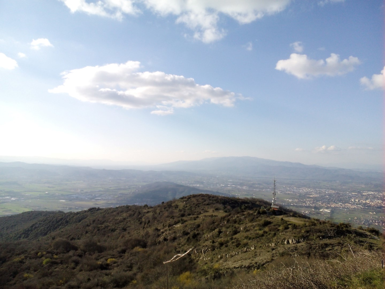 A cavallo tra Arezzo e Val di chiana - MONTE LIGNANO