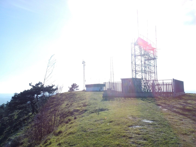 Antenne sulla cima del MONTE LIGNANO