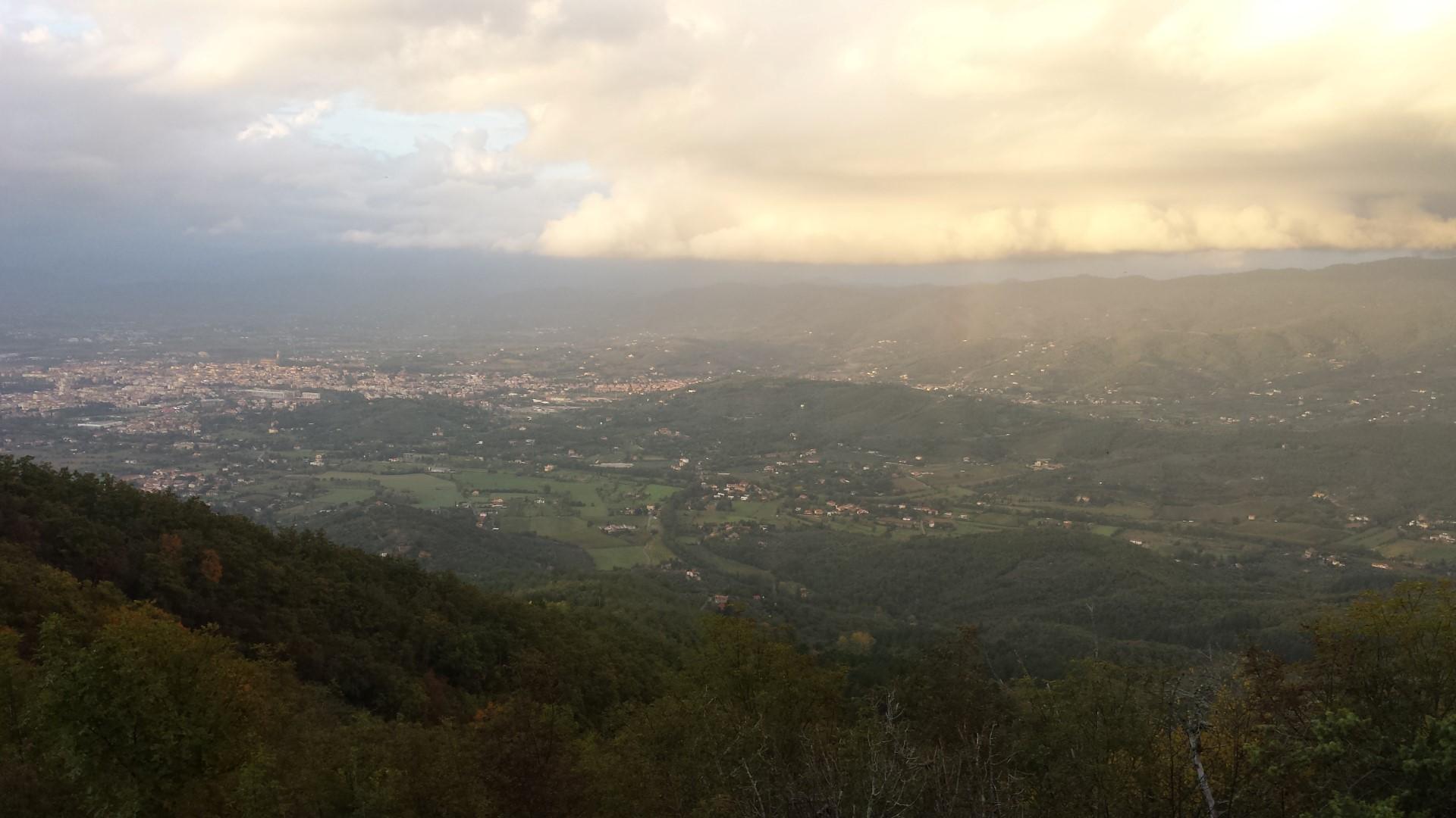 Panorama su Arezzo
