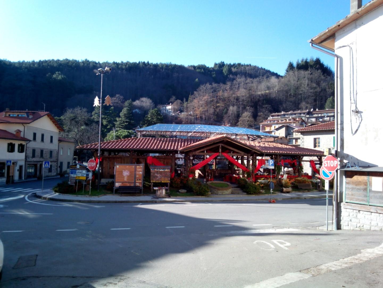 Badia prataglia - La piazza principale