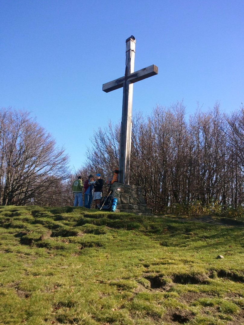 Croce sulla cima del Falterona