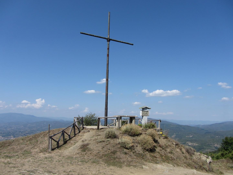 Croce sulla cima del Monte Lignano