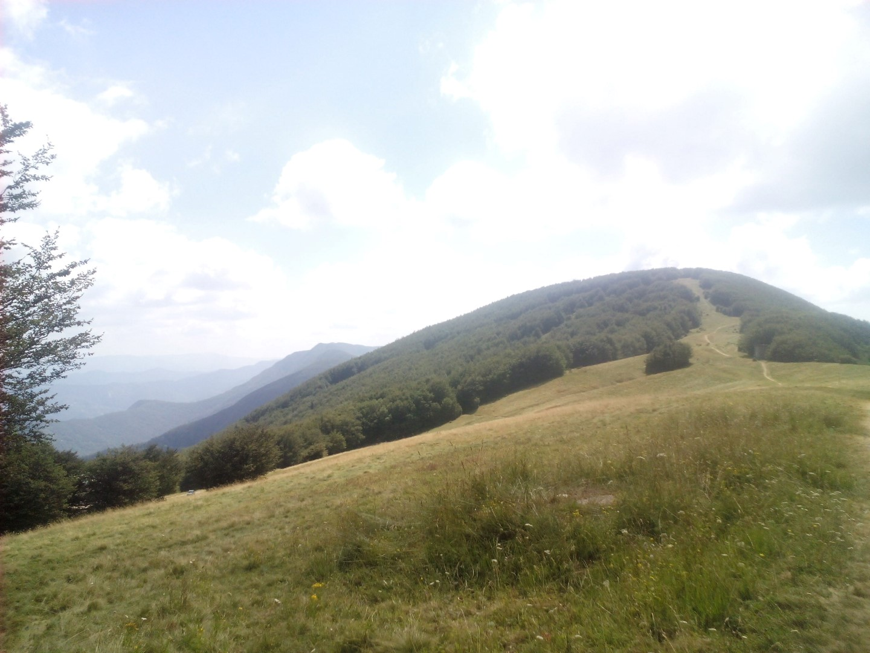 Visuale sul monte gabrendo e Poggio Scali