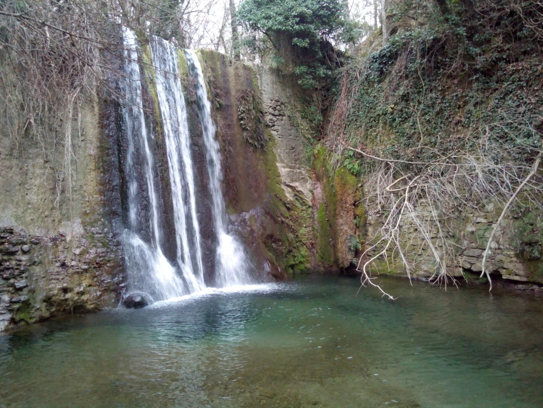 Mulinuzzo - Cascata vicino Pieve San Giovanni