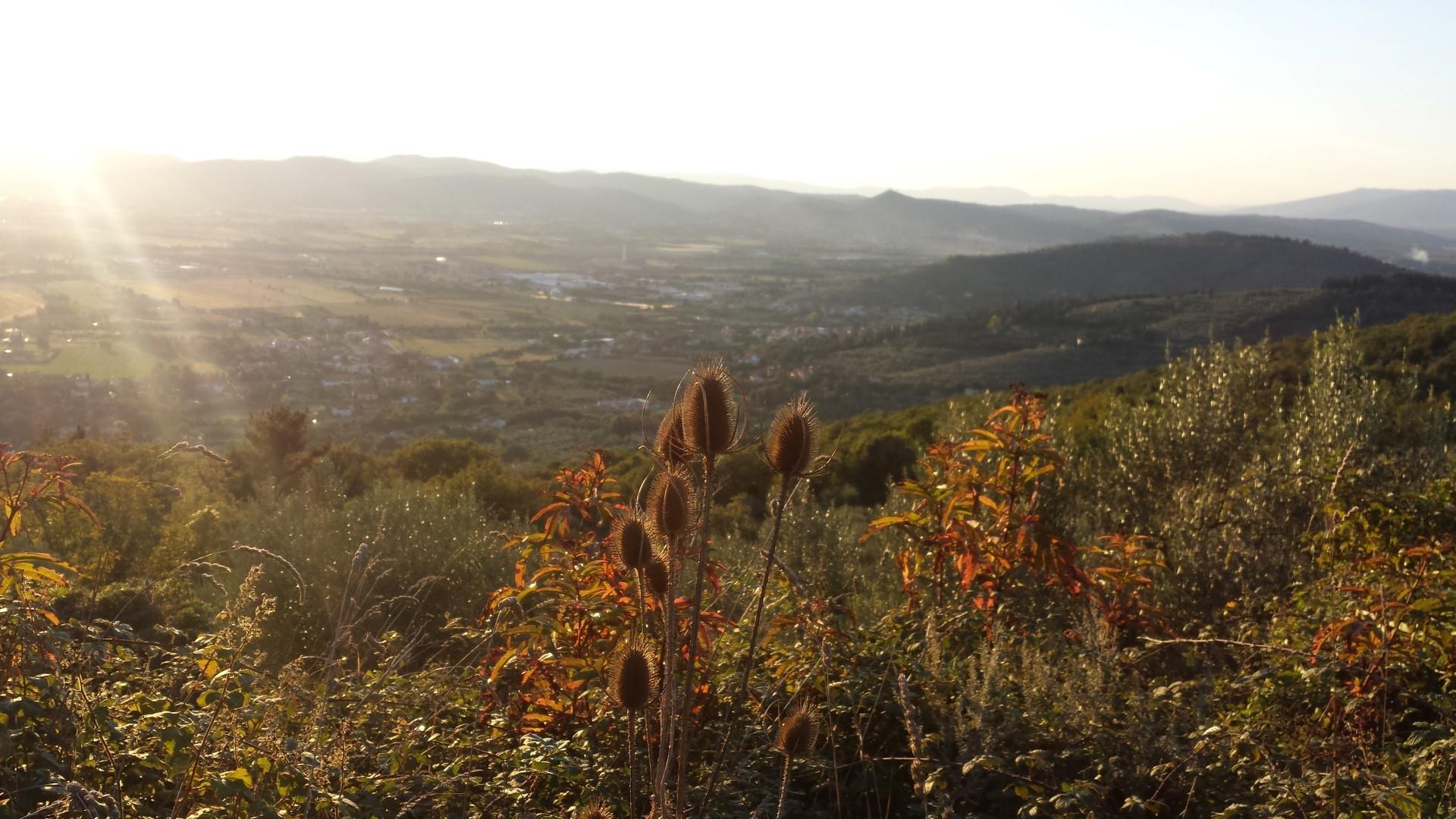 Panorama sulla Val di Chiana