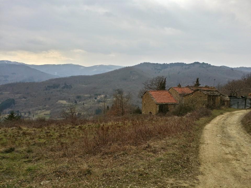 Vista dal Poggio Casalino - Sentiero 26