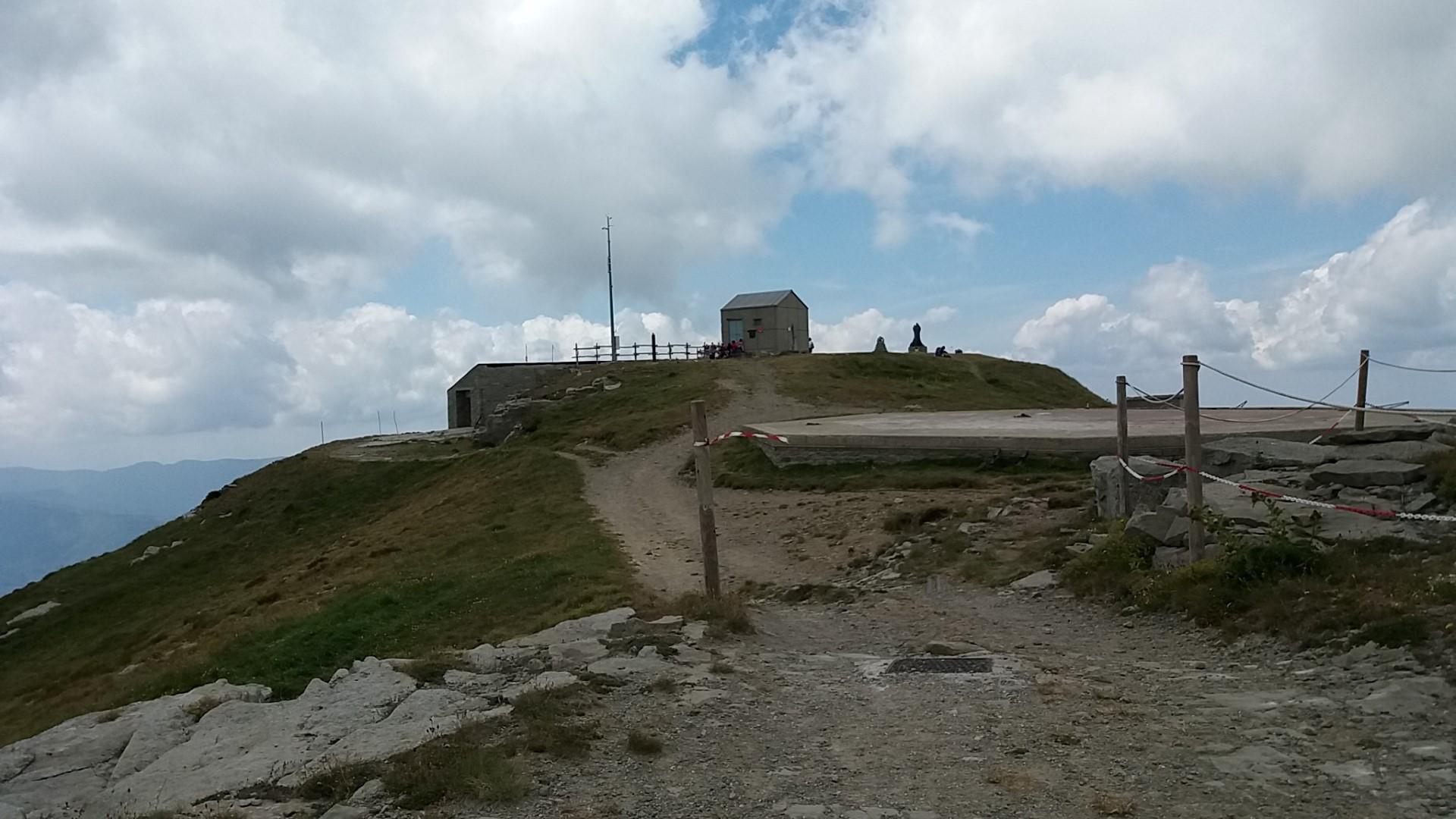 Cima del monte Cimone