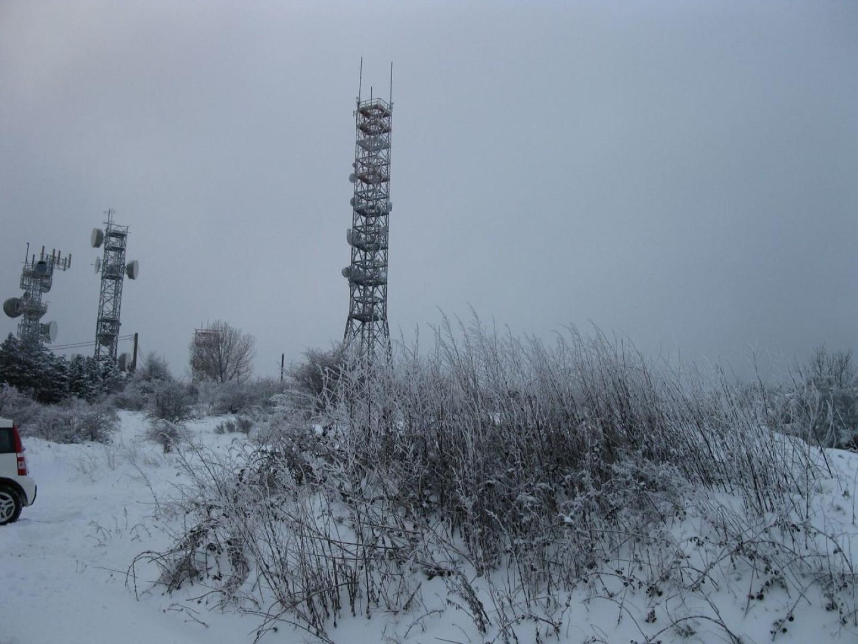 Ripetitori di Poti con la neve