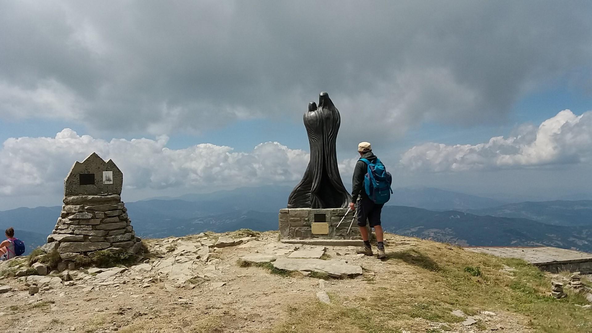 Scultura sul Monte Cimone