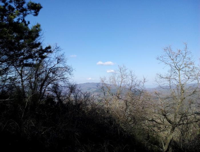 Alpe di poti vista dal MONTE LIGNANO