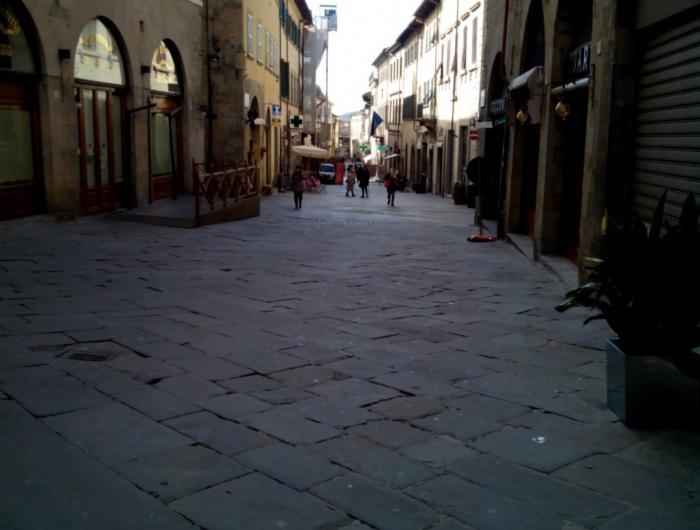 Passeggiata in centro ad Arezzo: Foto del Corso Italia