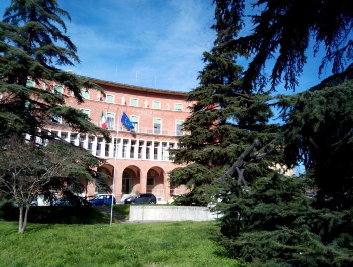 Passeggiata in centro ad Arezzo:Arezzo Palazzo Del Governo