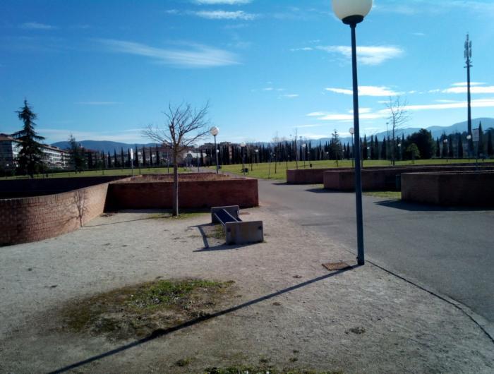 Passeggiata in centro ad Arezzo:Arezzo il Parco Carabinieri