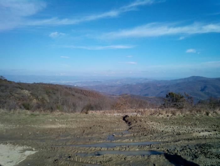 Foto Sul crinale che da Poti va a Montemercole