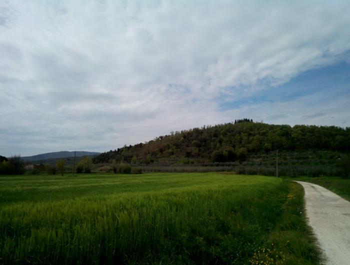 Giovi- San Martino. foto del colle dell busenga