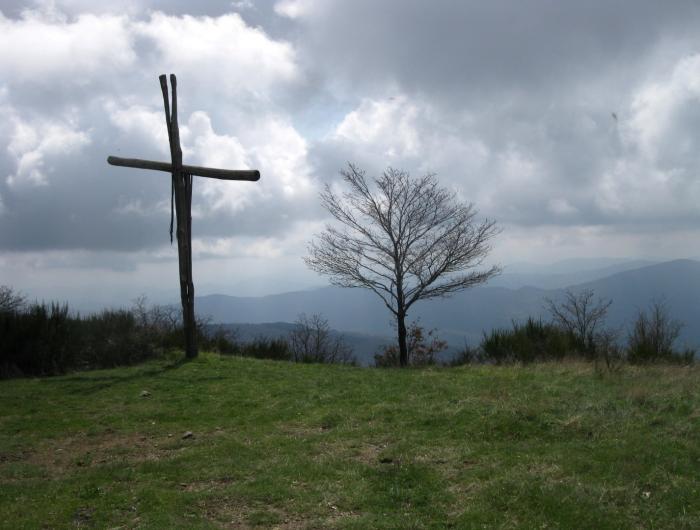 Croce sul monte Favalto (Poggio dello Spicchio)