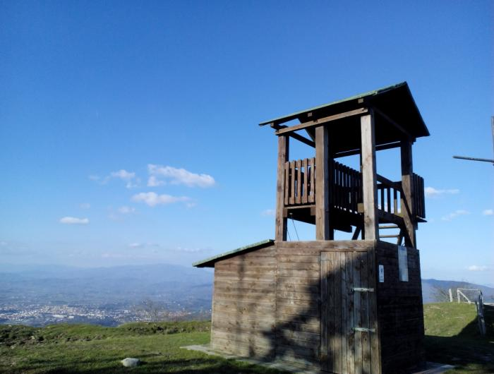 Vedetta sulla cima del MONTE LIGNANO
