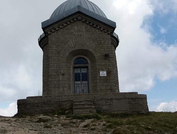 Cappella sul monte Cimone