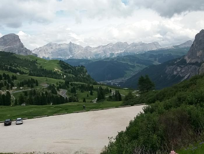 Passo Gardena, Colfosco, Corvara