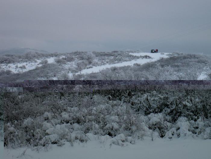 Alpe di Poti con la neve