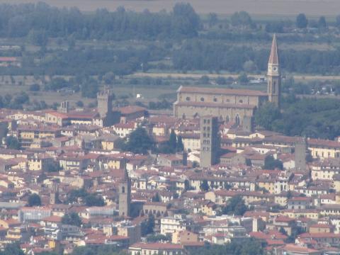 Arezzo vista dal Monte Lignano