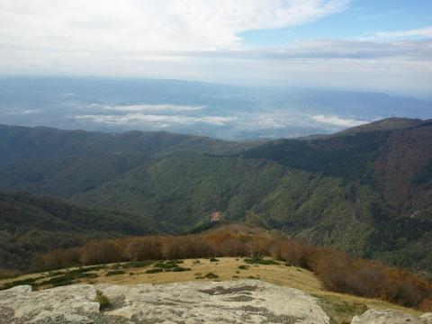 Pratomagno: Foto panoramica dal Pratomagno