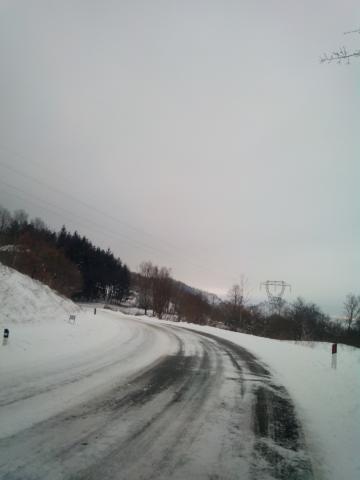 Via Maggio Innevata