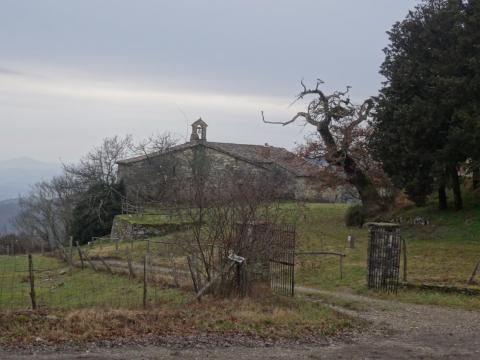 Spedale, vicino a Vezza, Casavecchia tra Pratomagno e Casentino