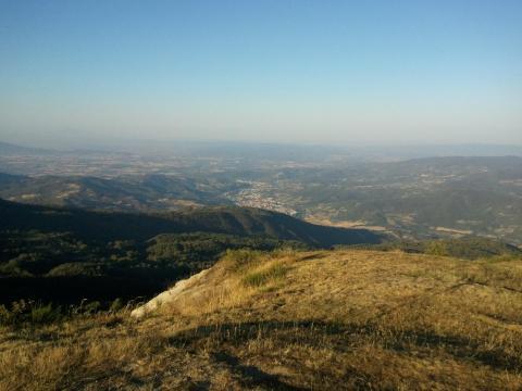 Sasso della Regina - Alpe di Catenaia - Vecchie Vie: escursioni in Arezzo
