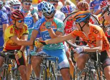 Giro d'italia a Poti Arezzo