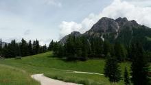 Escursione al Plan de Corones Vecchie Vie escursioni trekking casentino Arezzo