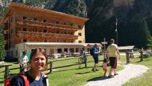 Escursione al rigugio Pederü da Tamersc Vecchie Vie escursioni trekking casentino Arezzo