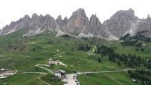 Escursione al Passo Gardena da Colfosco (Corvara) Vecchie Vie escursioni trekking casentino Arezzo